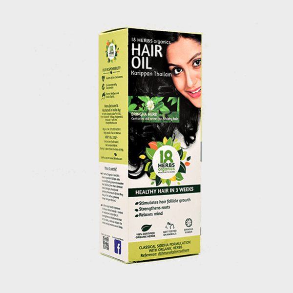 Cureka - Buy Best 18 Herbs organic hair oil